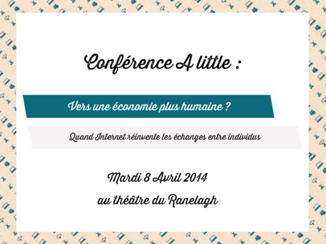 Conférence Vers une économie plus humaine