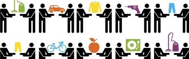 économie collaborative - partage - consommation