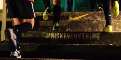 Nike#RiskEverything