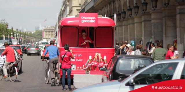 Bus Coca-Cola Paris