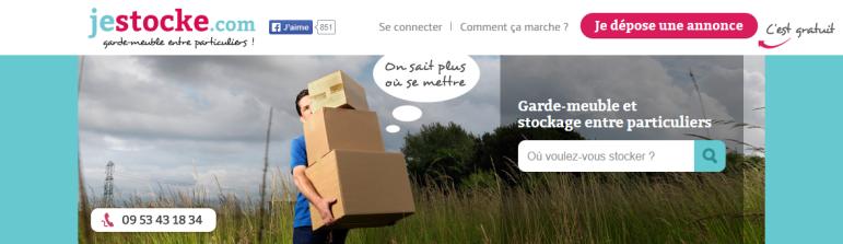 Jestocke.com - garde-meuble entre particuliers