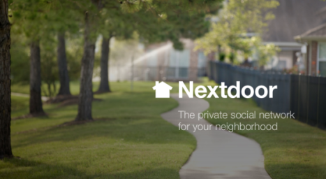 nextdoor - social media
