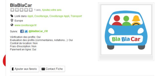 BlaBlaCar - ShareAnnuaire