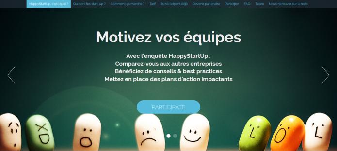 Happy startup