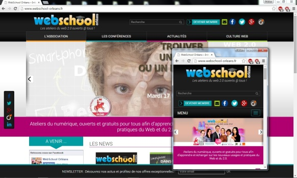 Responsive design webschool 3collaboractifs